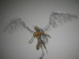Wire Angel II by charraj