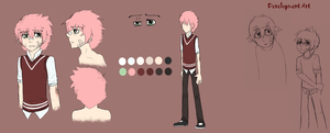 pink haired oc I created back in 2011(aka Arty) by BakaPup