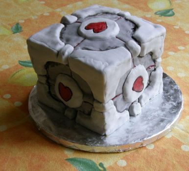 The cake is a lie by PixelMecha