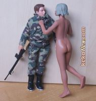 Kekoflex 1-10 Scale Madelman's Girlfriend 04 by Kekoflex