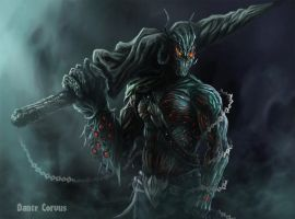 Dark Lord of the Dungeon by DanteCyberMan