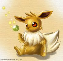 Eevee by Deruuyo