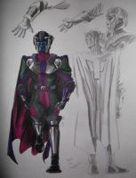 Kang the Conqueror by InfamouslyDorky