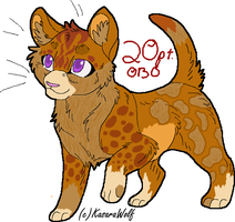 kitten 20 points obo SOLD by eaglespirit1