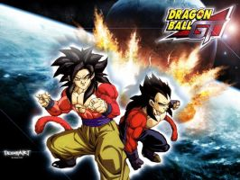 Dragon Ball Gt World by scream2007