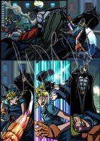 BATMAN ARKHAM CITY (cut and run) page 6 by andrew-henry