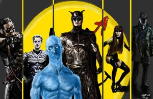 Watchmen painting by vegas9879