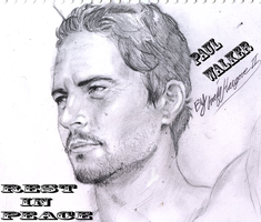 REST IN PEACE PAUL WALKER by cvsnb