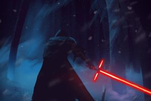 STAR WARS: The Force Awakens - Dark Side by Techonic
