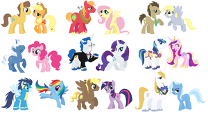 I Really Want To  See  A Fanfoal sheet Of Theese by TigerPrincessKaitlyn