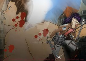 Lyx slaying titan.2 by Lyrialia