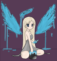 Painted Wings by BlueMelody98