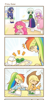 My Little Kindergarten 4koma 3 strip by HowXu