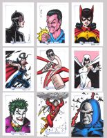 DC Legacy Sketch Cards K by tonyperna