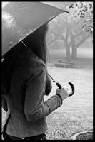 Anneli In The Rain VII by bcdirector