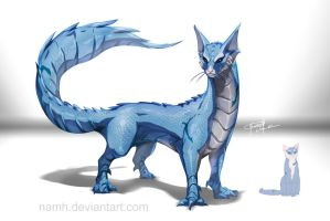Dragon ArrowCat by Namh