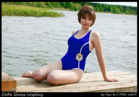 CODE GEASS:ASHFORD SWIM SUIT by KoujiAlone