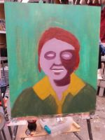Portrait Painting (Shadows and Light) by ZaeLynn