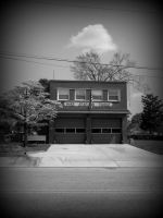 Fire Station Three by tryinghardtobreathe