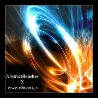 Abstract Brushset 10 - GIMP by r0man-de