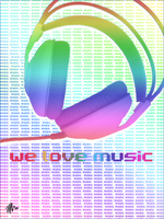 WE LOVE MUSIC by hellfrequence66
