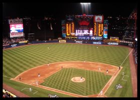 Shea Stadium by REDfromNYC