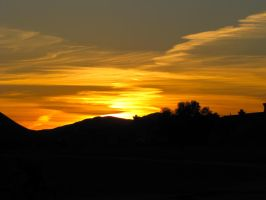 West Hemet Sunset by LVI56
