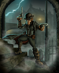Steampunk Caricature by RatGnaw