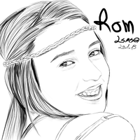 Portrait - Rom W. by LilachSigal