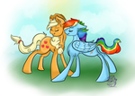 AppleDash by Downpourpony