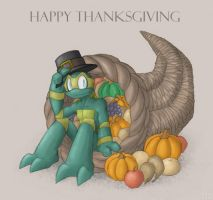 Thanksgiving 2007 by SootToon