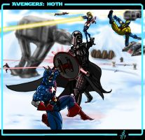 Avengers: Hoth by cheddarpaladin