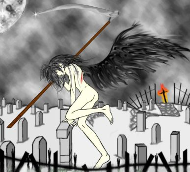 naked and with the dead by youkai-hime