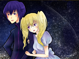 Shugo chara: Under the starry sky by Keabun