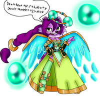 punky and lilia fusion liliy by Mongoosegoddess