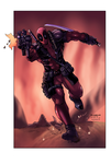 Deadpool colors by Ironcid