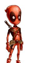 little Deadpool by nocturnalMoTH