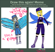 before and after meme by HavensGoneMad