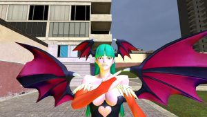 morrigan in Gmod 3 by correo1231