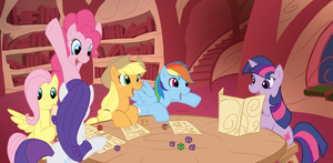 Dungeons and Mares by Elosande