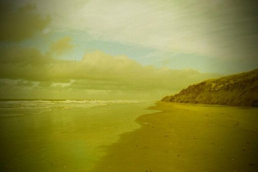 Dunes And Clouds by Stockbroker