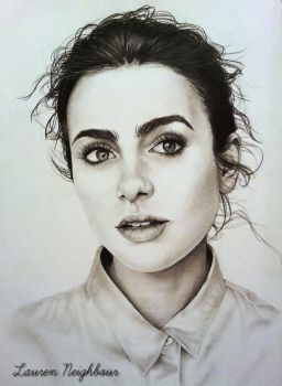 Lily Collins by LaurenNeighbour