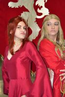 The red witch and the golden queen by S-Lancaster