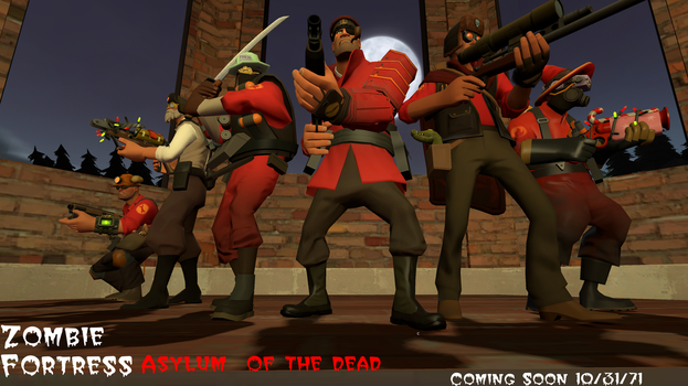 zombie Fortress Movie poster (made in gmod) by tf2redpie