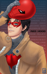 Otakuthon Print: Red Hood by BurningArtist