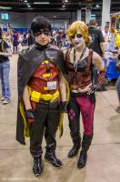 Acen 2013 - Robin and ???? by Havoc-The-Tenrec