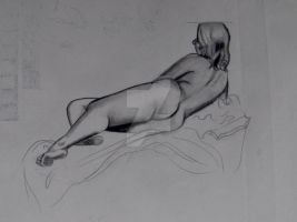 44 2011 Tini - Pencil: The Recline by JusTiniStilborn