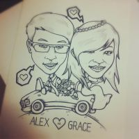 Grace and Alex by GalactikCaptain