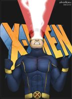 Cyclops (Scott Summers) by zhidkov