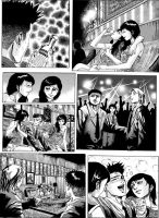 My old comic for Local Manga magazine. by chengxiangarts
